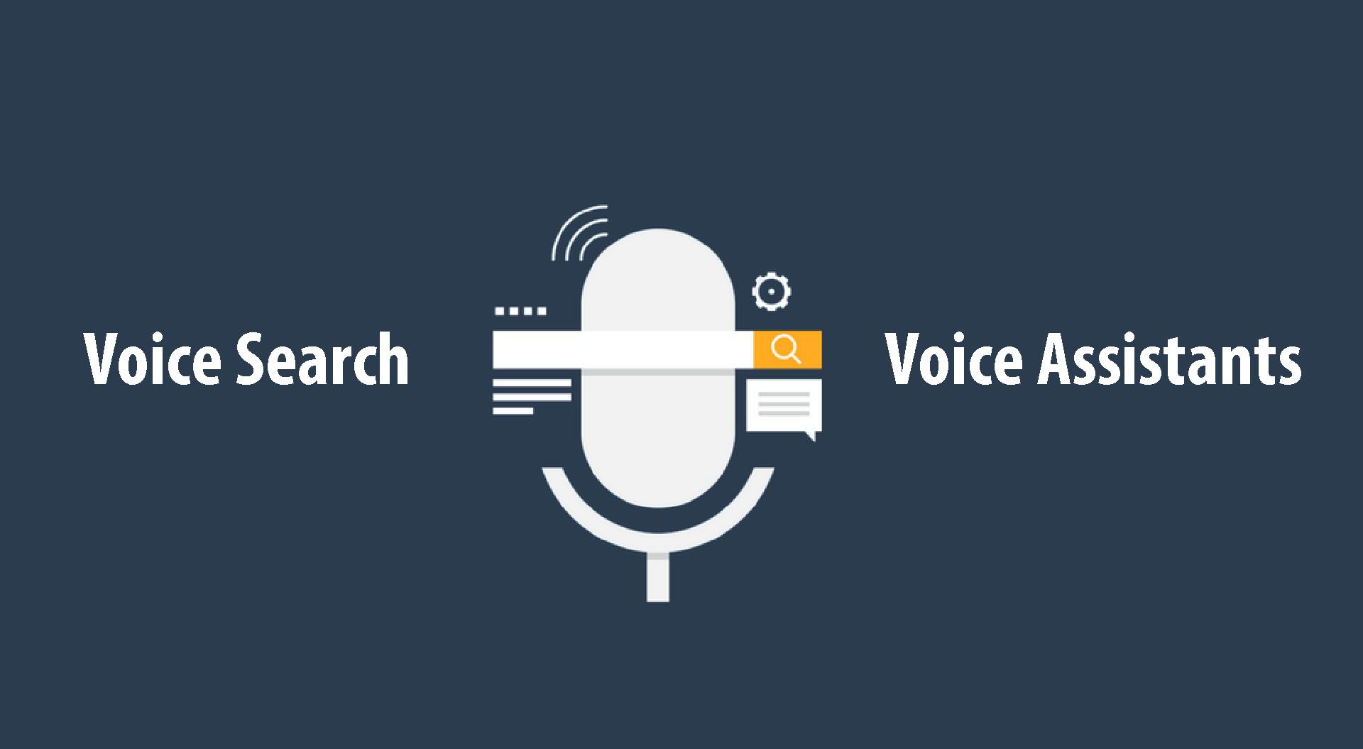 Voice search Voice Assistants
